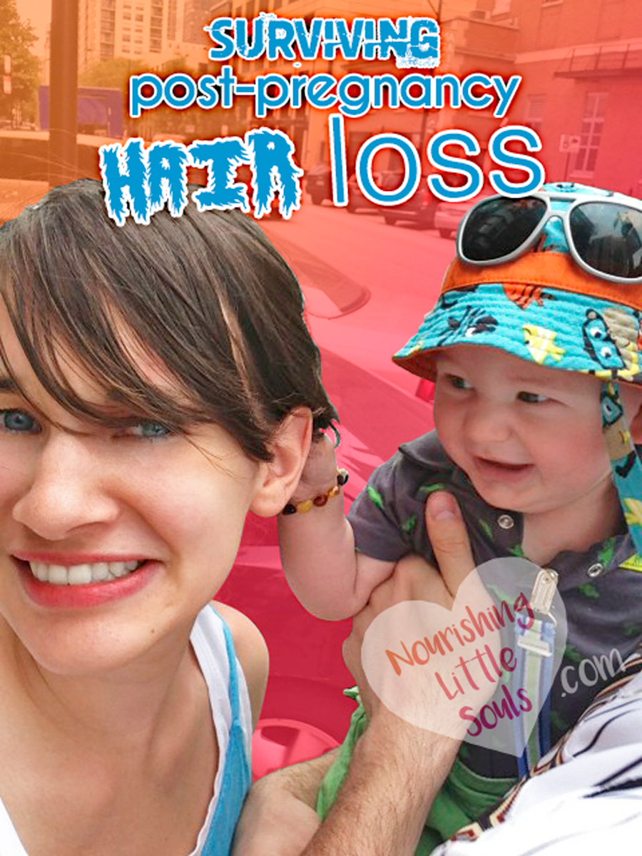 It's coming for you! How to survive postpartum hair loss!