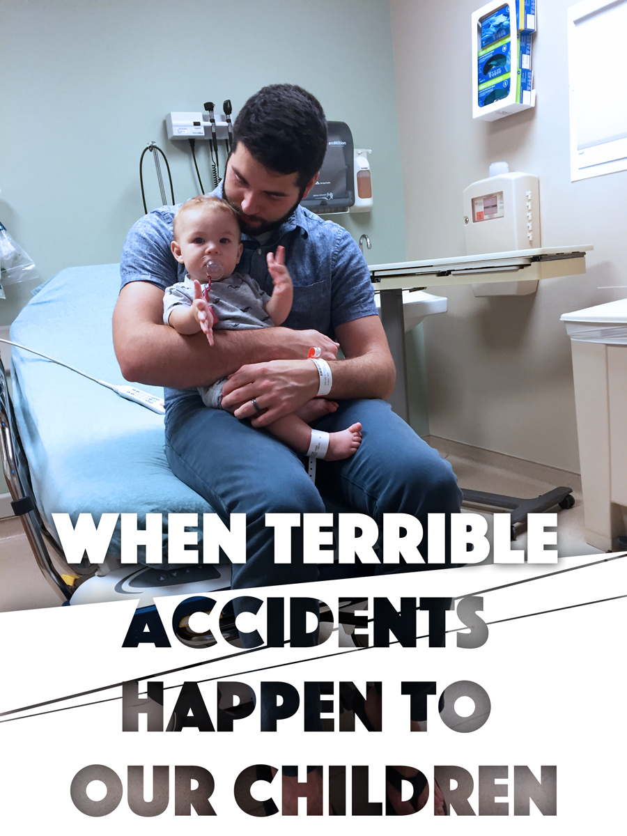 Accidents happen. And they can really get us down when they happen to our kids on our watch. Here is one mother's story that you need to hear.
