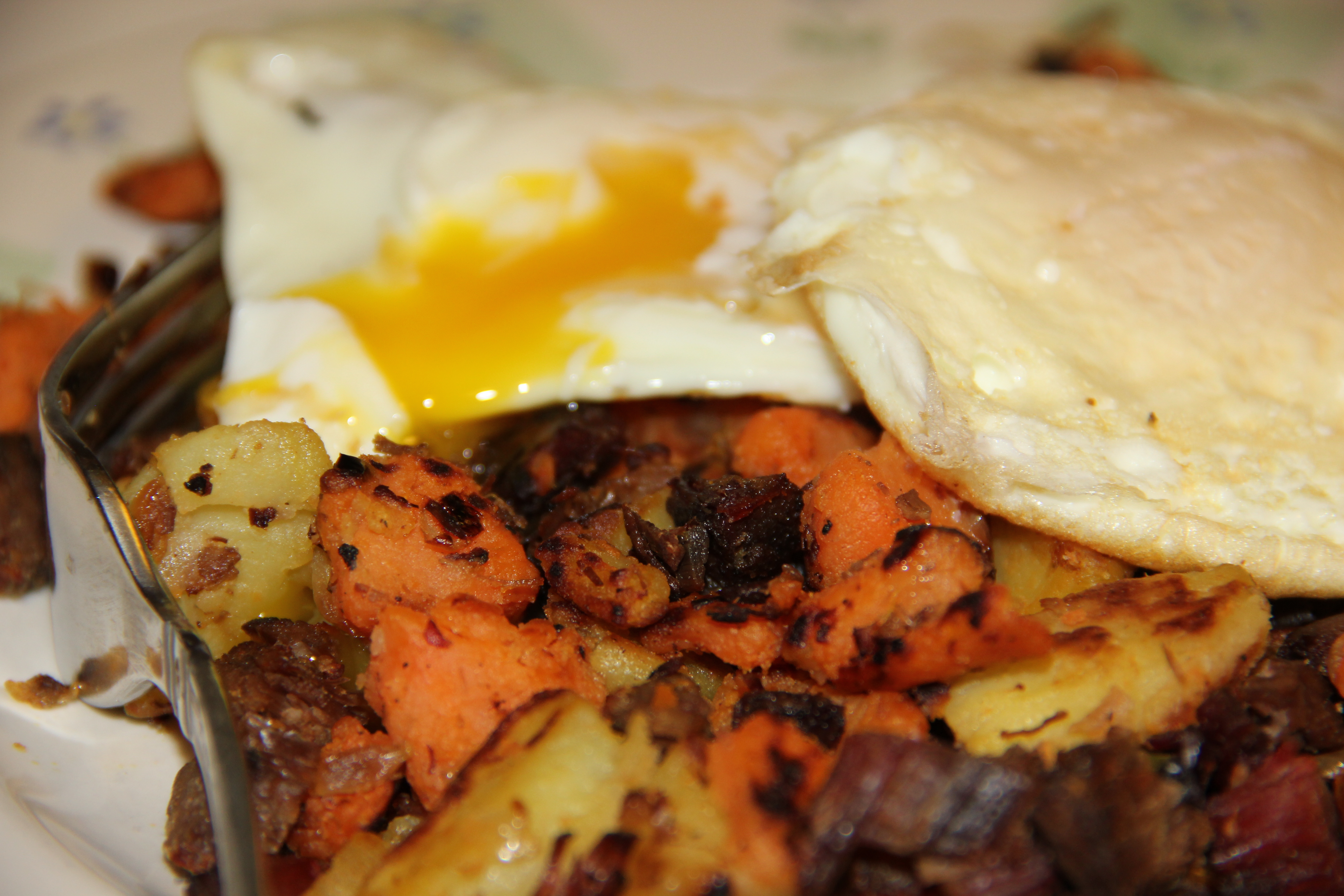 Texas Hash--it could be breakfast, it could be dinner--who cares because it's DELICIOUS!