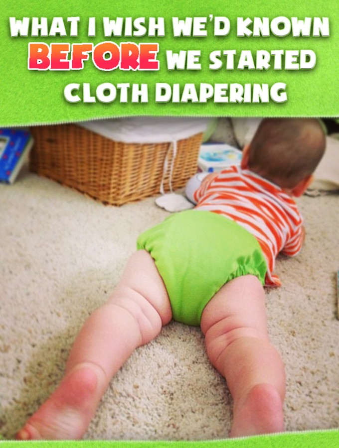 Cloth diapering: what I wish we'd known before we started