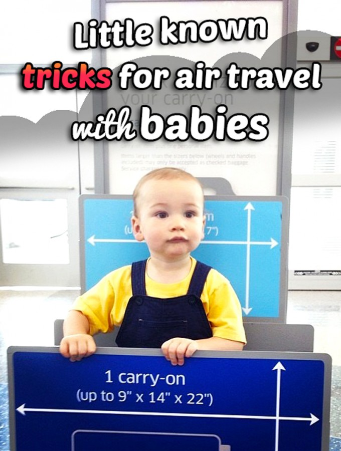 Everything you need to know about air travel with babies and toddlers