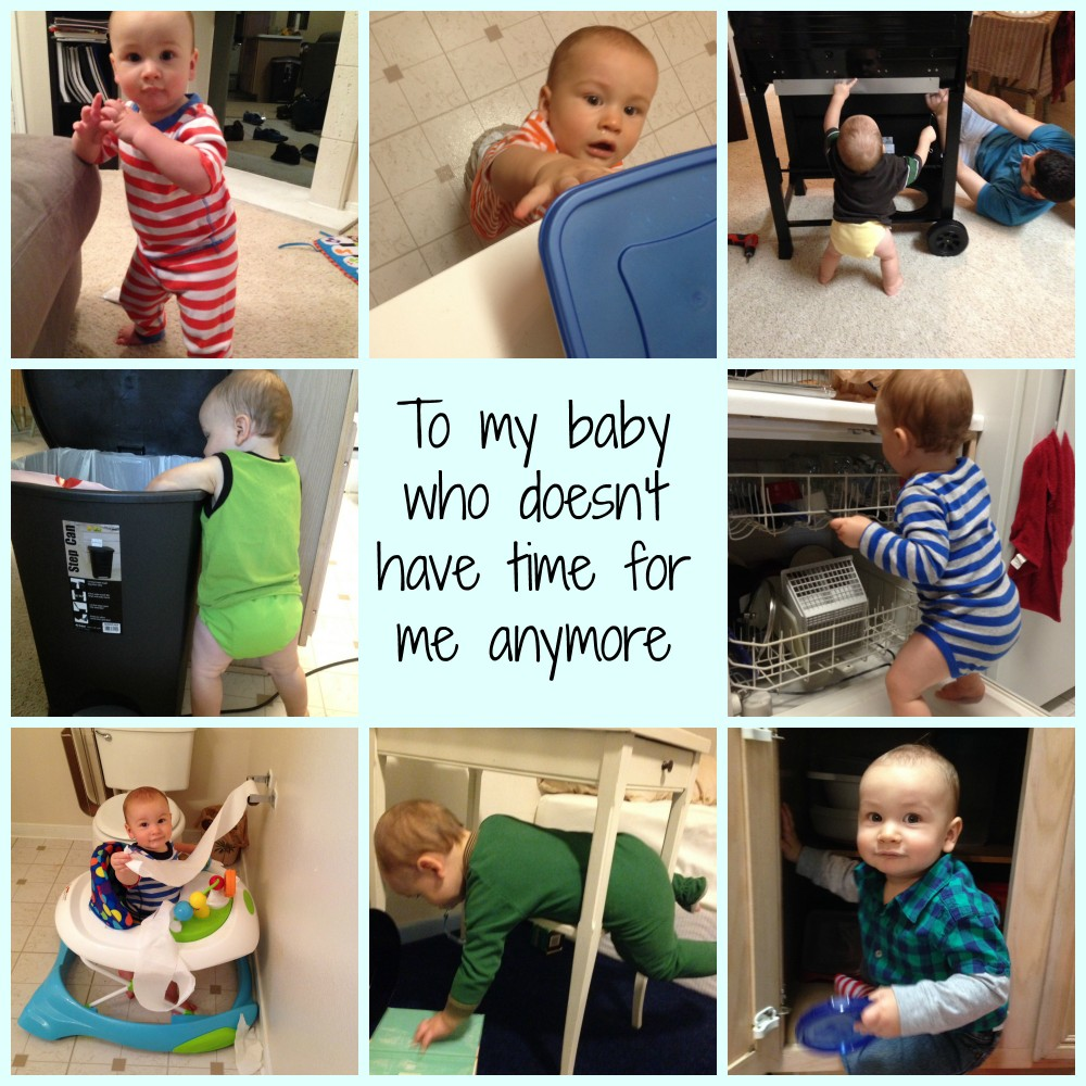 An open letter to my baby who doesn't have time for me anymore
