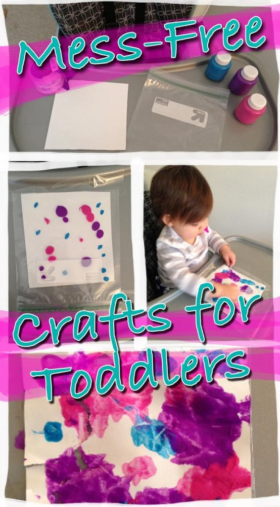 Mess free crafts for toddlers nourishing little souls for Arts and crafts for a 1 year old