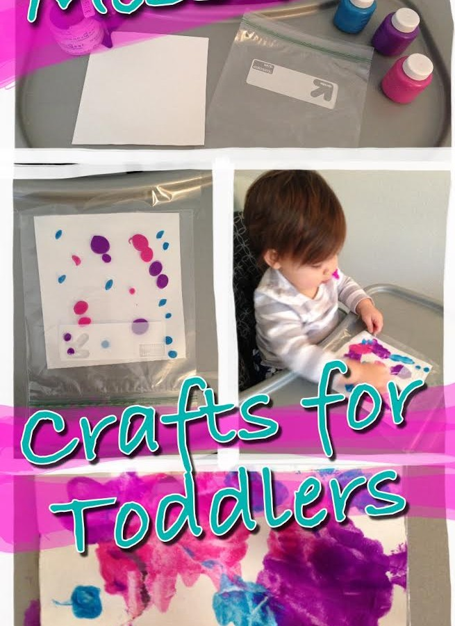 Mess-Free Crafts for Toddlers