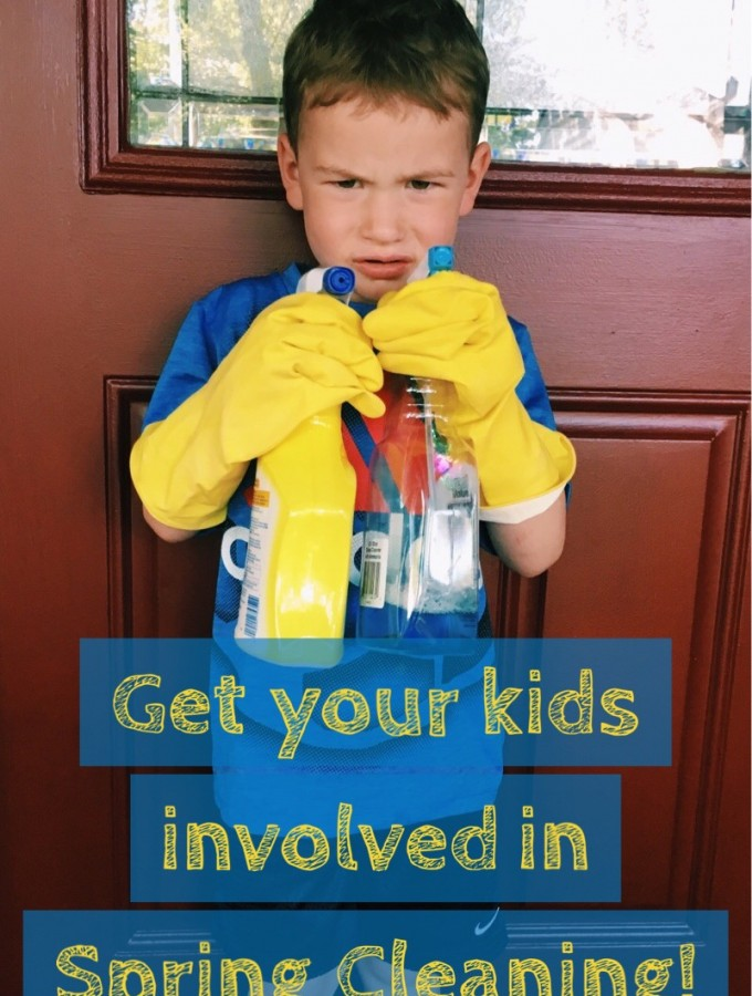 Get your Kids involved in Spring Cleaning!