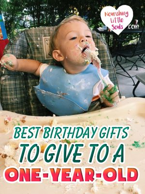 Best birthday gifts to give to a one-year-old! The ultimate first birthday party gift guide!