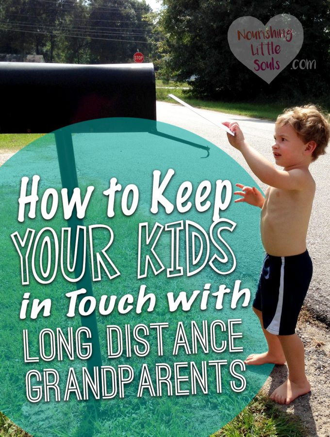 How to Keep Your Kids in Touch with Long Distance Grandparents