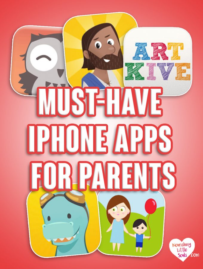 Must-Have iPhone Apps for Parents -- Great list here!