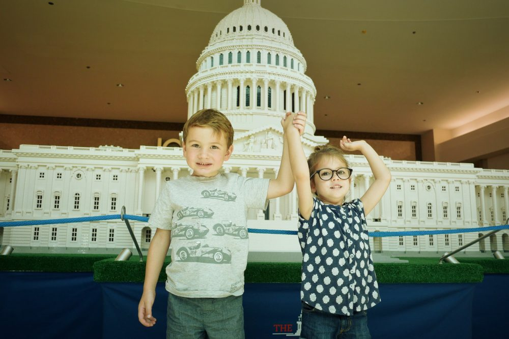 Check out #LEGOAmericana at the Baybrook Mall in Friendswood, TX until August 14th!
