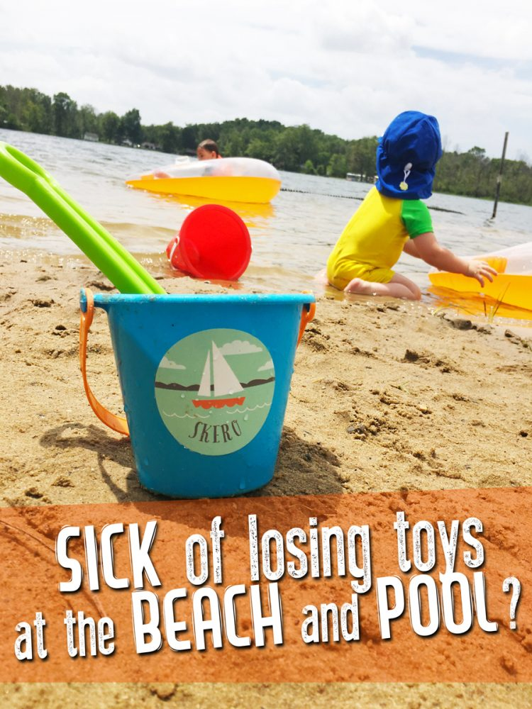 Solve the Summertime Conundrum: Keep Track of Pool and Beach Toys! Great tips for not losing your toys (or your mind)!