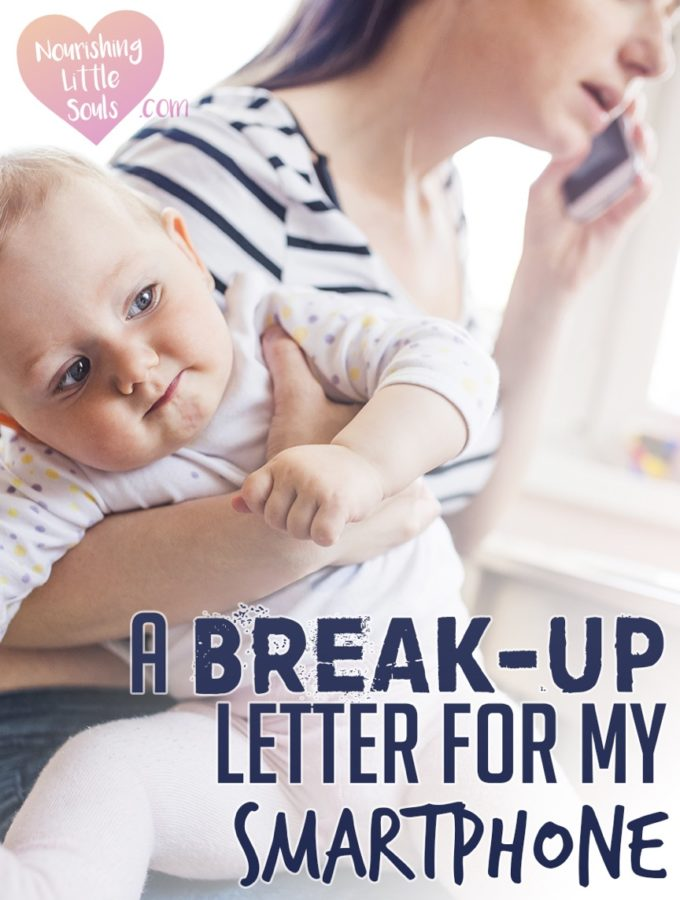 A Break-Up Letter for my Smartphone